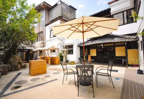 「TEIEN(庭園)open air」中庭を利用したレンタルスペースプラン